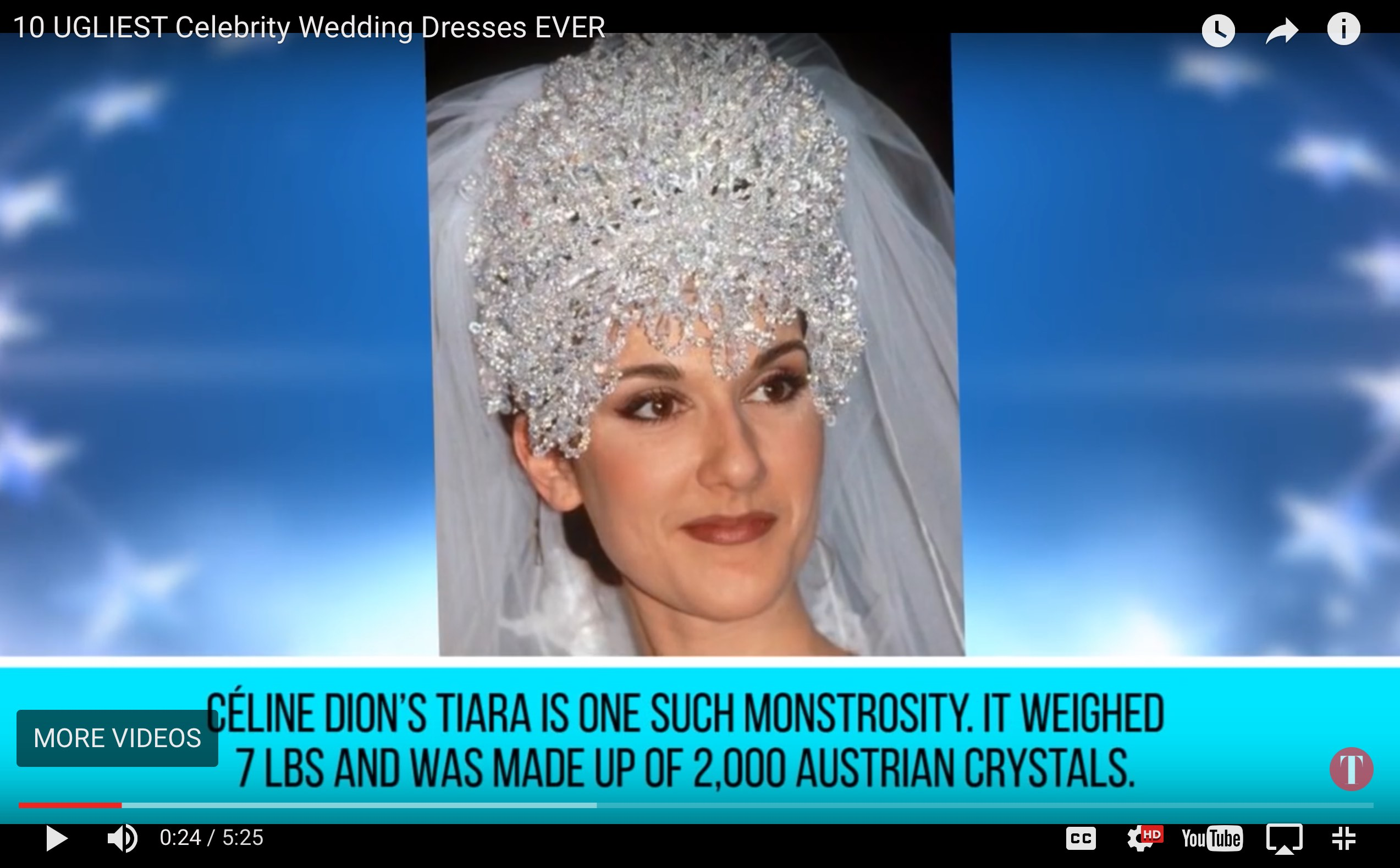 10 ugliest celebrity wedding dresses EVER!