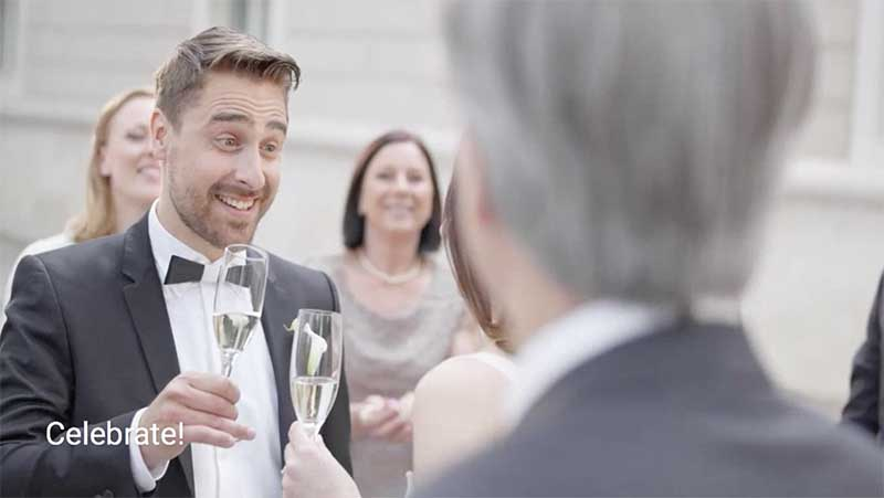 Excellent wedding toast delivery tips